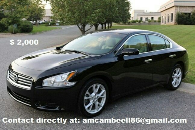 clean title 2013 Maxima clean CARFAX in hand.