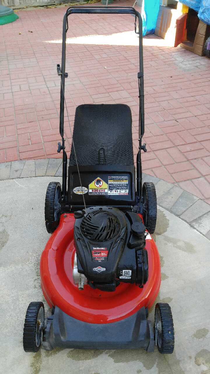 yard machine 550ex