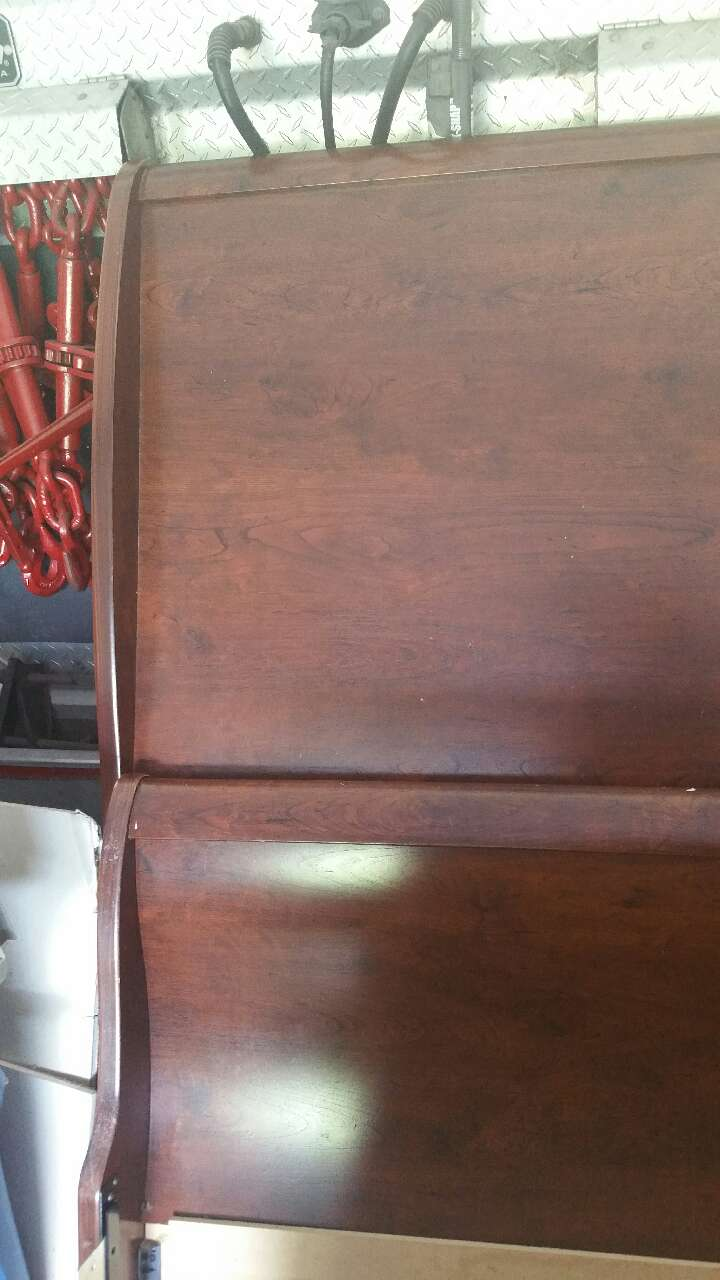 Letgo full size bed with matching dresser in hiram ga for Matching bed and dresser