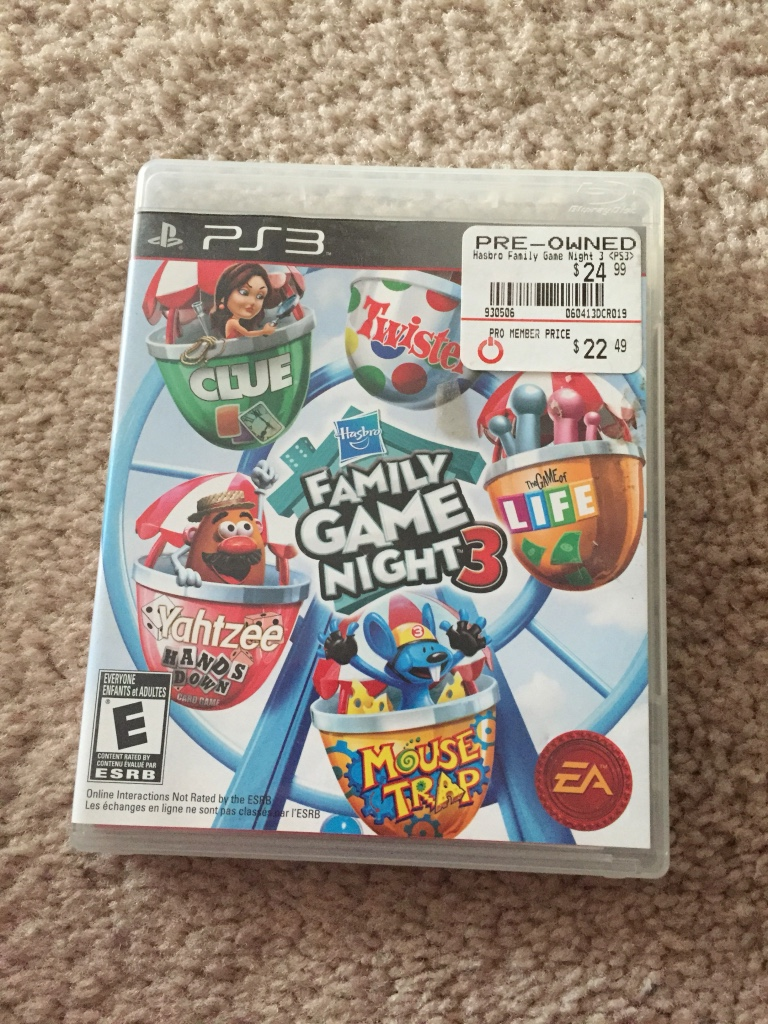 Family Games For Ps3 : Letgo sony ps family game night in correll park nc