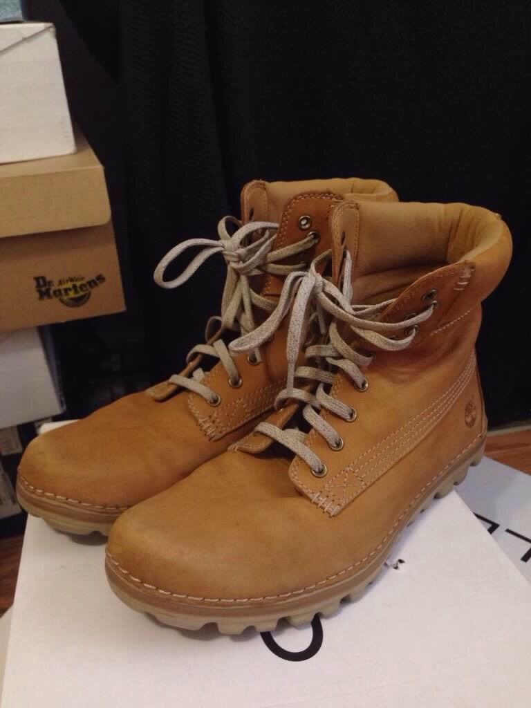 s brown leather work boots in toronto letgo