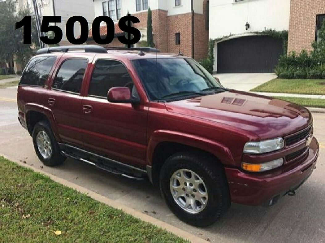 2000 Tahoe Limited For Sale In California