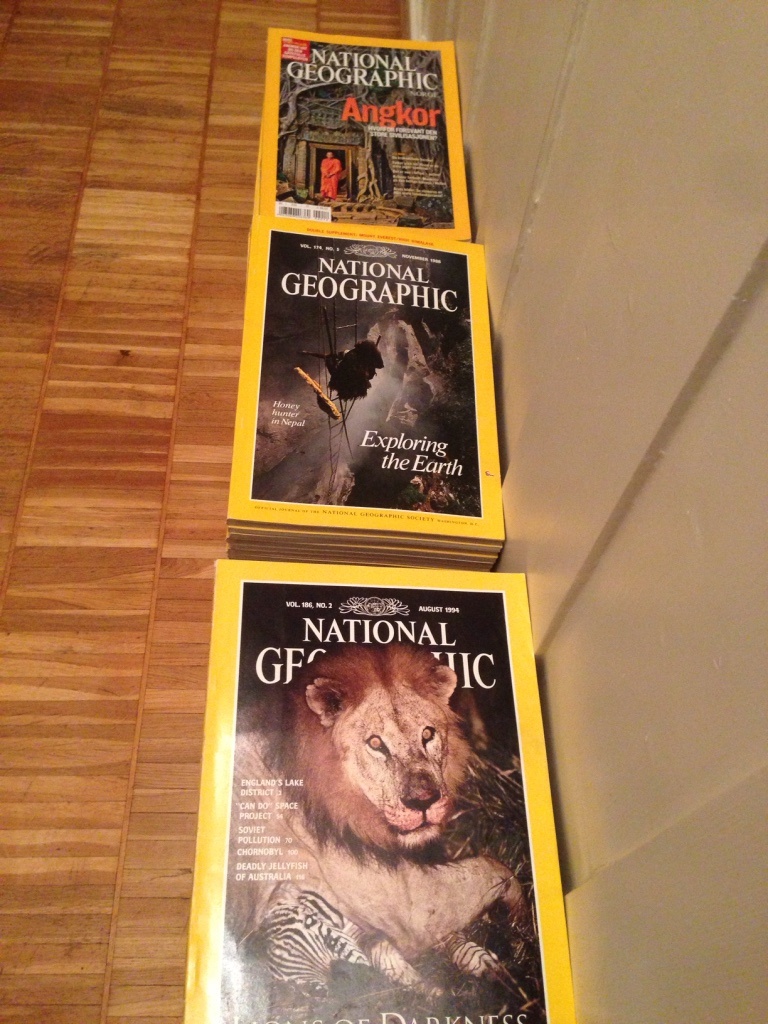 National Geographic blader