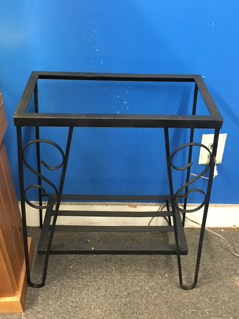letgo - 10 gallon metal stand for a fish ta... in Lamott, PA 10 Gallon Fish Tank Stand Metal