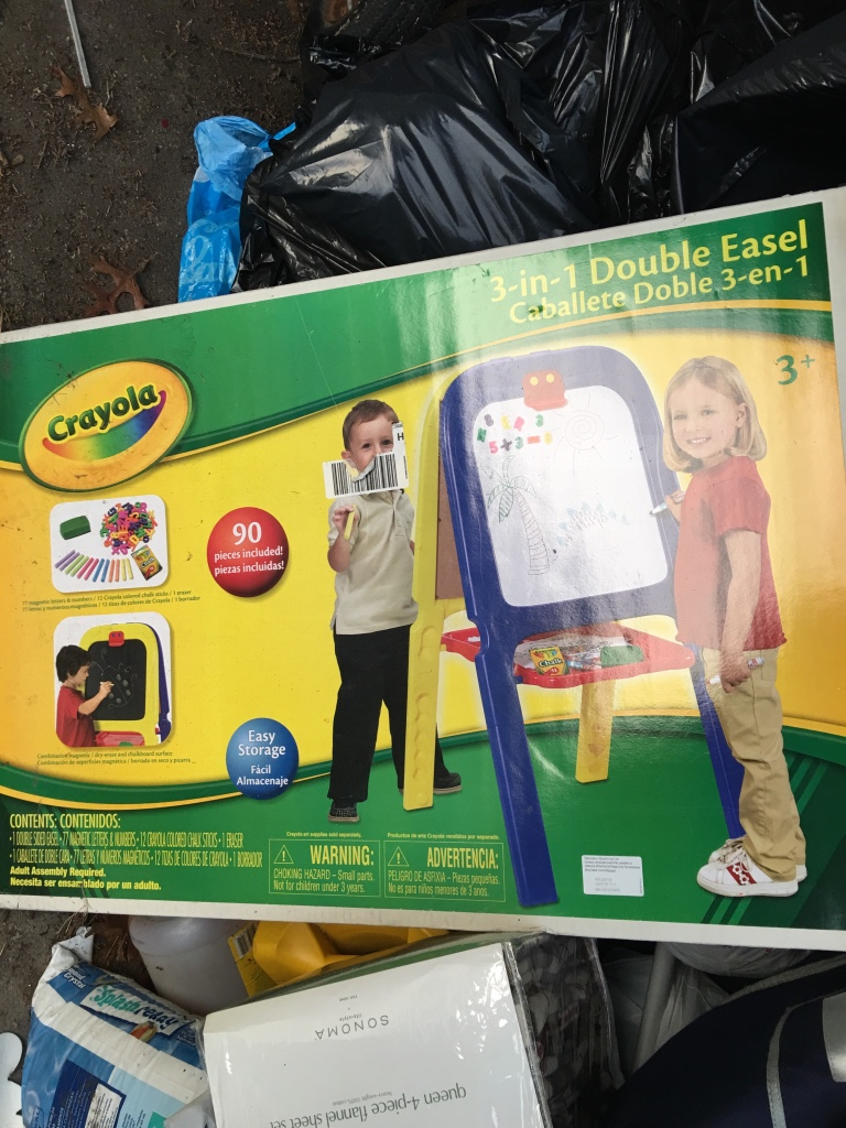 crayola 3 in 1 double easel with magnetic letters letgo 3 in 1 easel crayola in bay shore ny 21223 | 456fb10d2cb19690697e94bcee421457