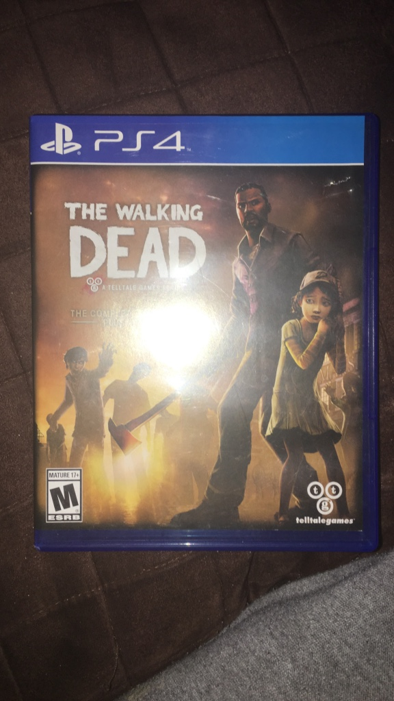 letgo the walking dead ps4 game in beech grove in. Black Bedroom Furniture Sets. Home Design Ideas
