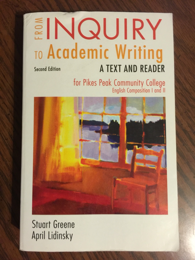 from inquiry to academic writing a text and reader online