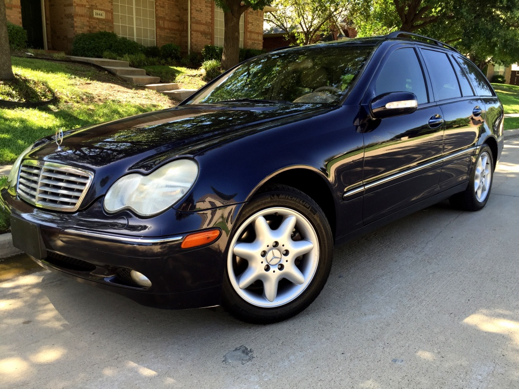 letgo 2002 mercedes benz c320 wagon in arlington tx. Black Bedroom Furniture Sets. Home Design Ideas