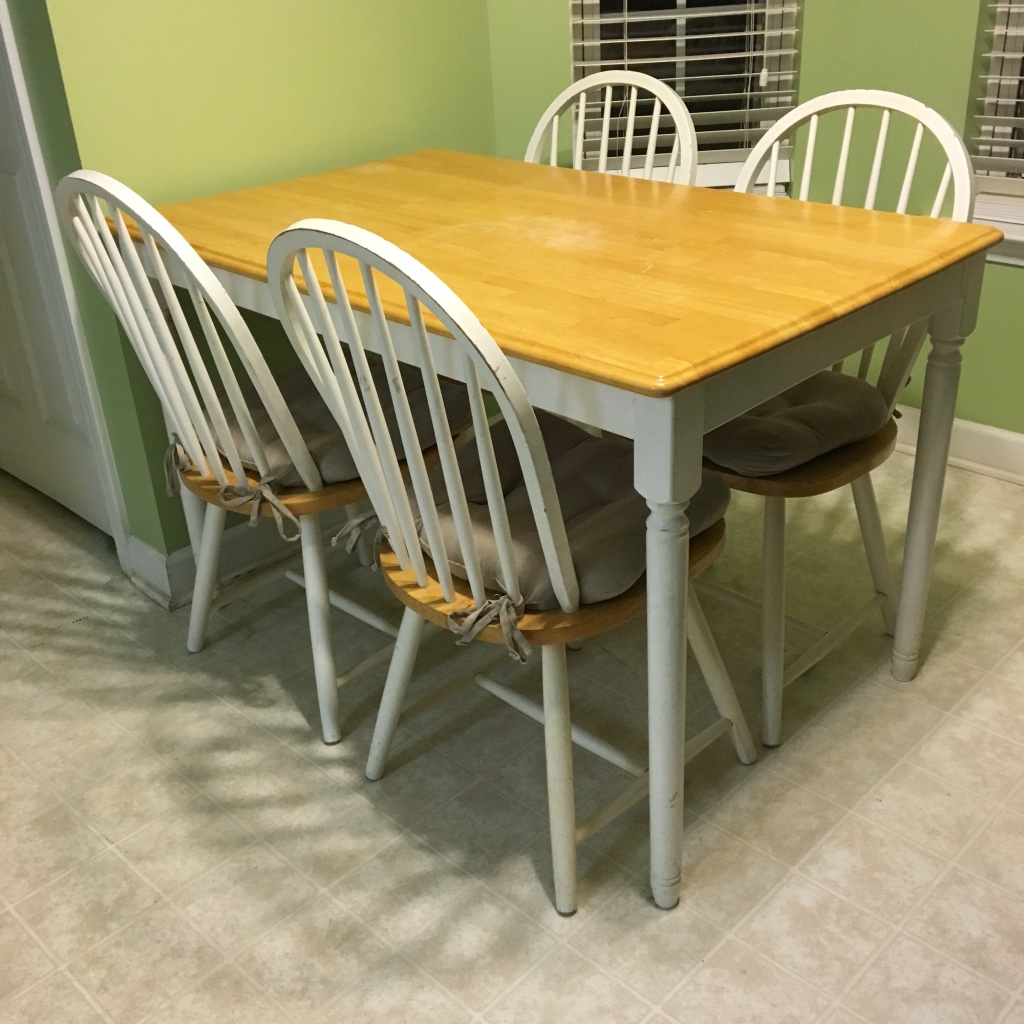 Letgo kitchen table and chairs in thomasville nc - Thomasville kitchen table ...