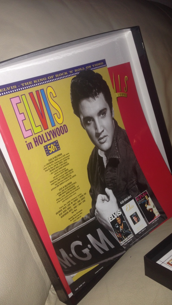 Elvis Presley i hollywood magzine