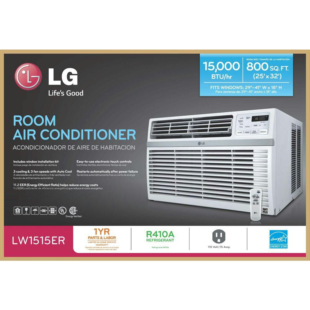 Letgo lg window 12 000 btu air condit in orangeburg ny for 12000 btu window ac with heat