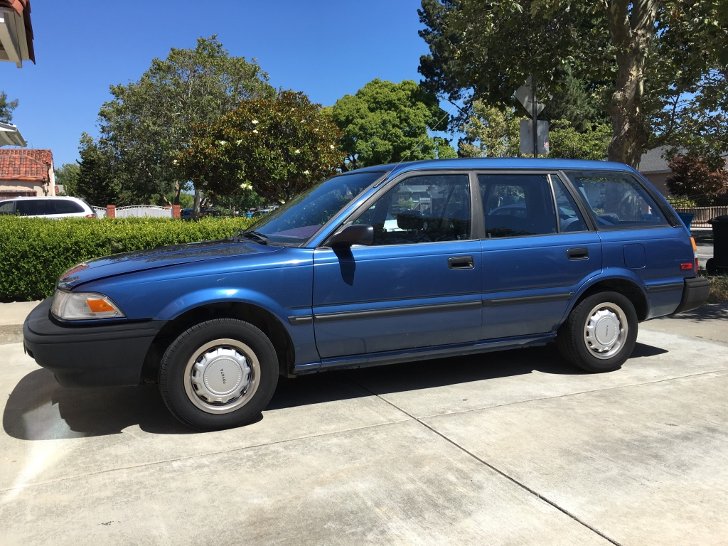 Letgo 1990 Toyota Corolla Wagon Runs In Foster City Ca
