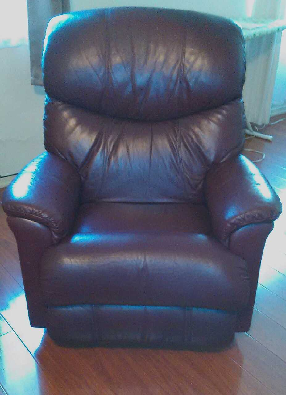 Letgo Used La Z Boy Leather Reclining In Rosemead Ca