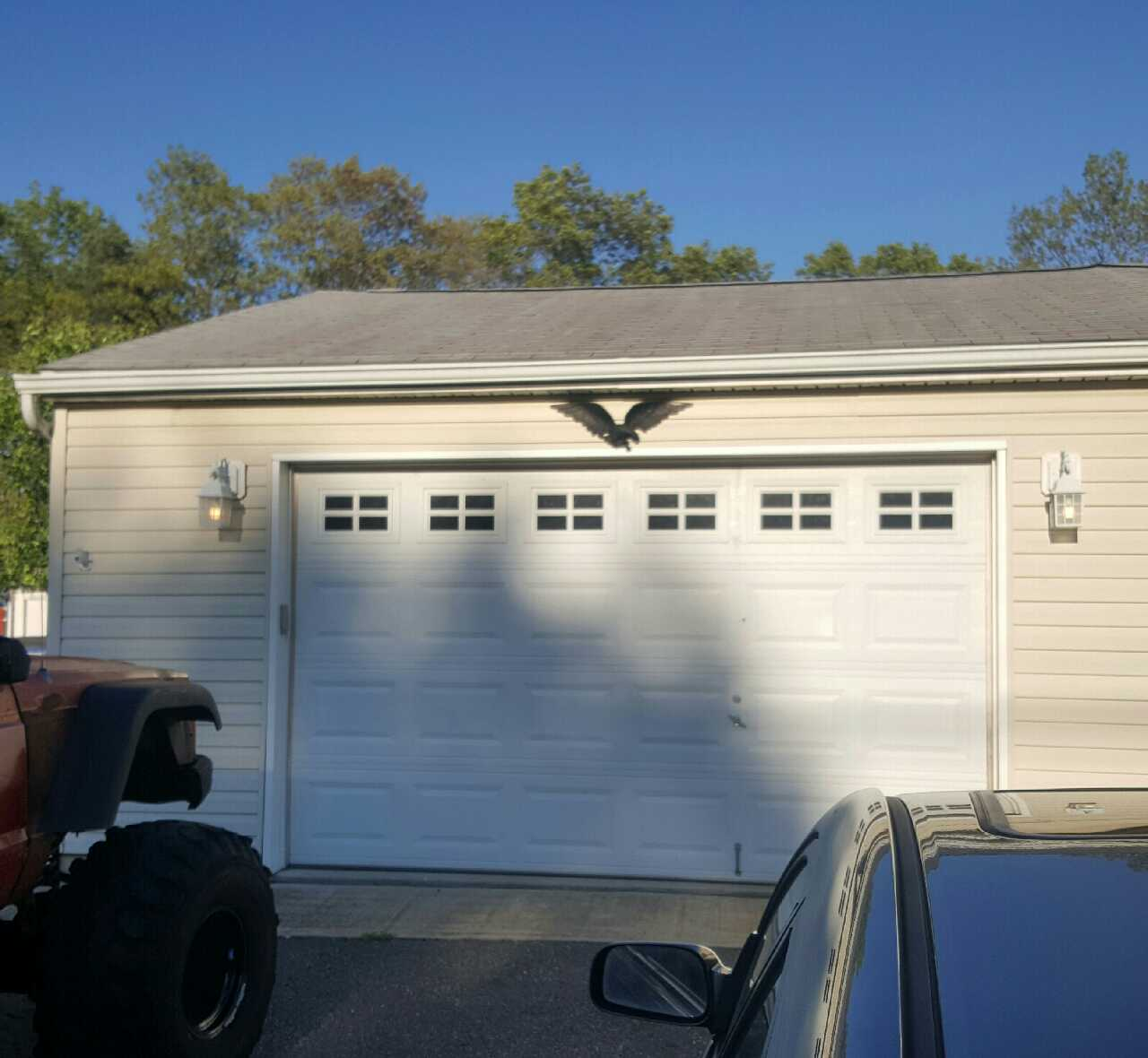 letgo 12x7 chi garage door in howell nj
