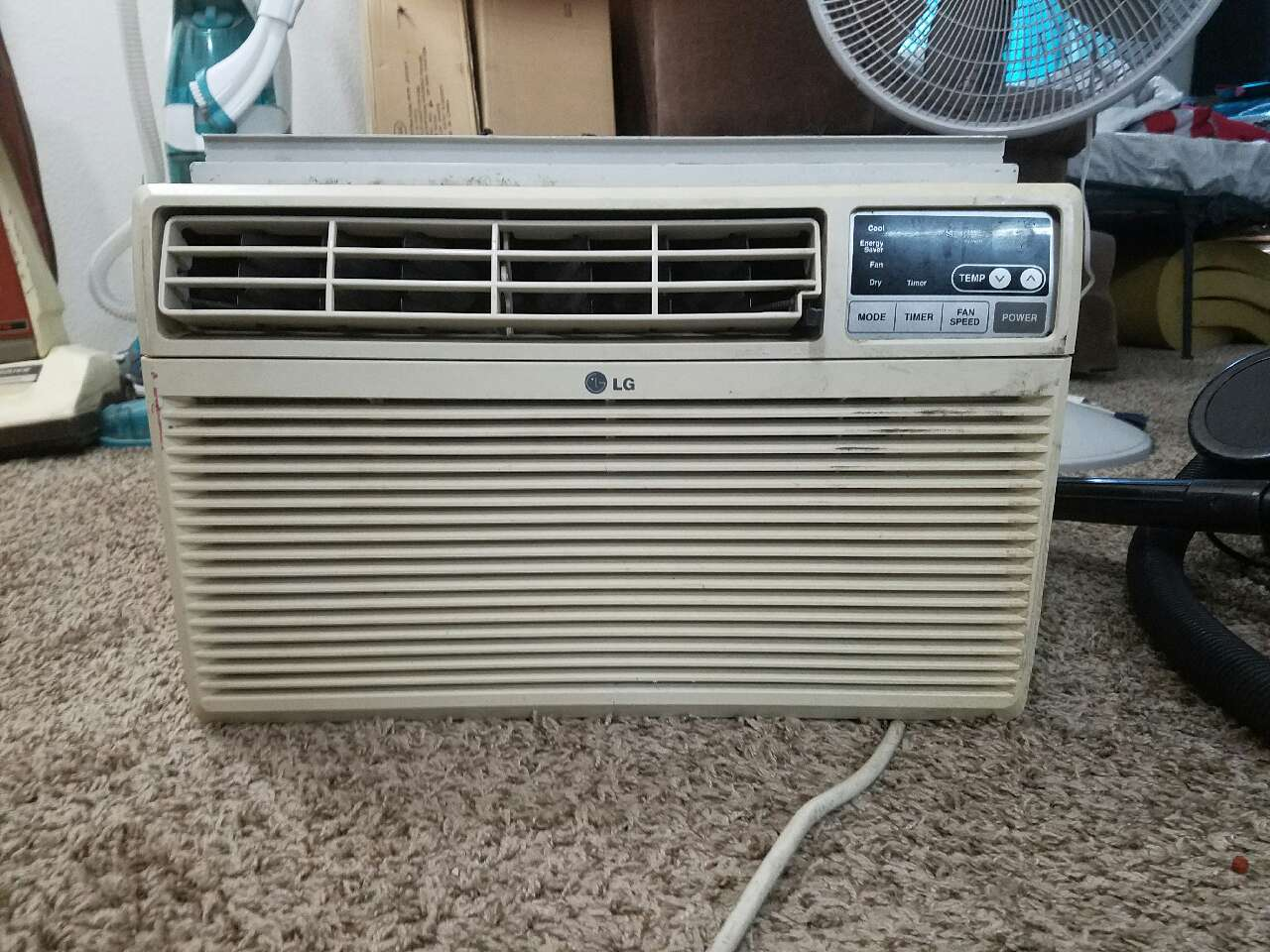 Home Colorado Bow Mar Electronics Lg White Room Type Air Conditioner #466574