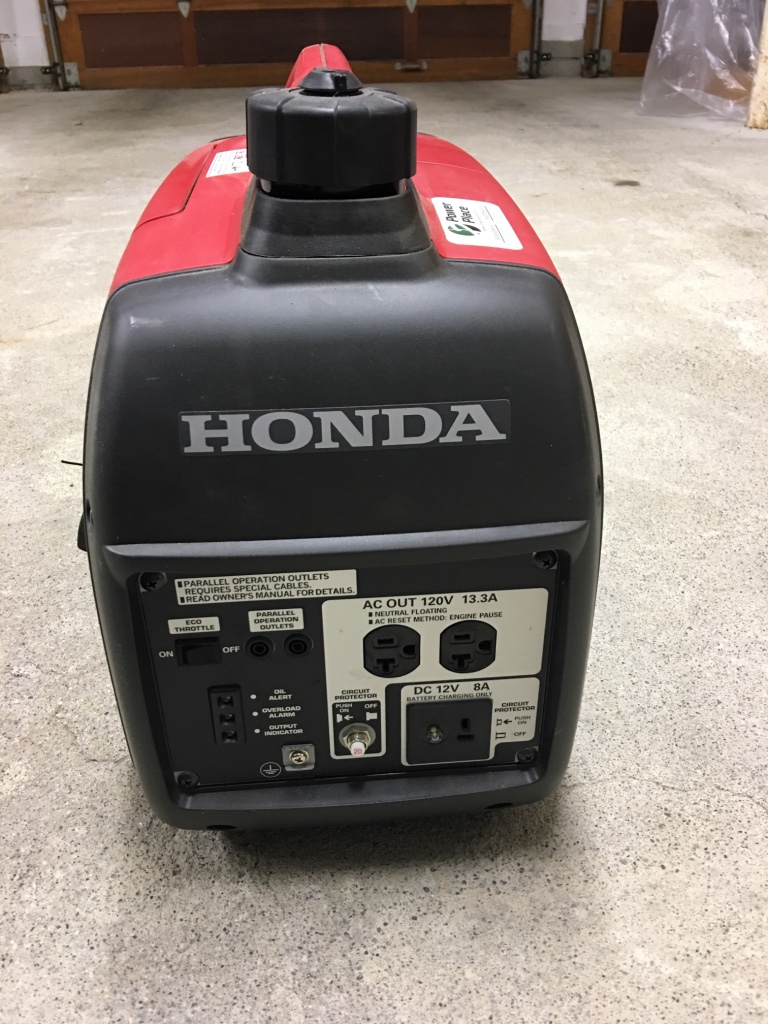 honda 2000 watt generator manual