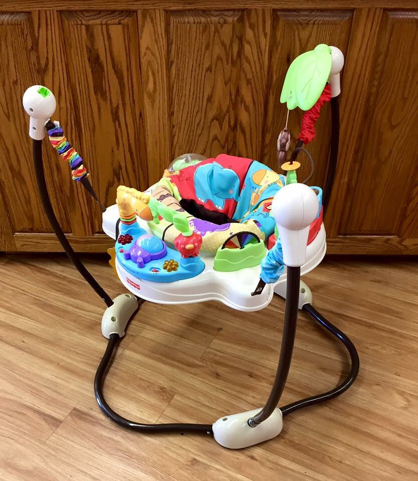 fisher price luv u zoo jumperoo instructions