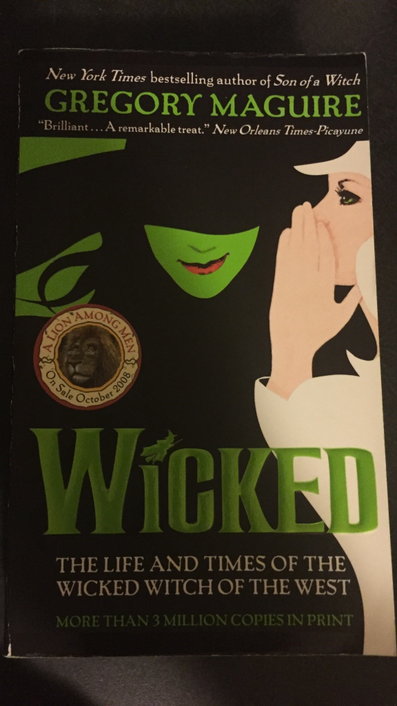 wicked by gregory maguire Wicked, by gregory maguire noun the doctrine that a person can attain a high spiritual and moral state by practicing self-denial, self-mortification, and the like.