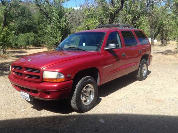 letgo 1998 dodge durango slt 4x4 in arco station ca. Black Bedroom Furniture Sets. Home Design Ideas