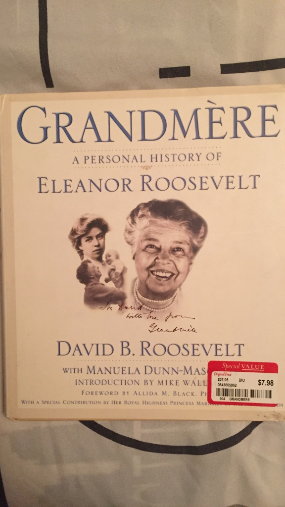 """eleanor roosevelt a personal and Introduction: gena philibert-ortega is a genealogist and author of the book """"from the family kitchen """" in this guest blog post, gena writes about eleanor roosevelt's popular and long-running newspaper column, """"my day"""" when you think of franklin delano roosevelt what comes to mind."""