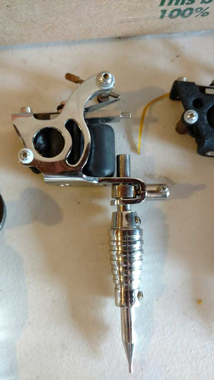 tattoo gun hook up