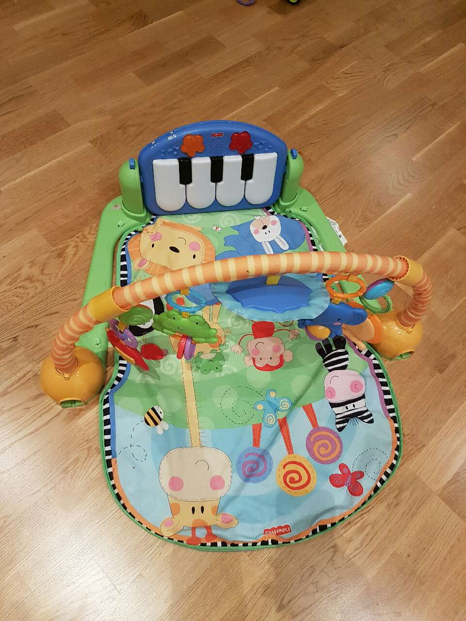 Baby gym med piano