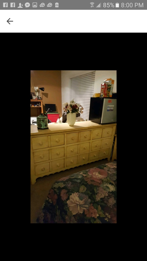 Letgo brown wooden multi drawer chest n in menifee ca for Multi night stand