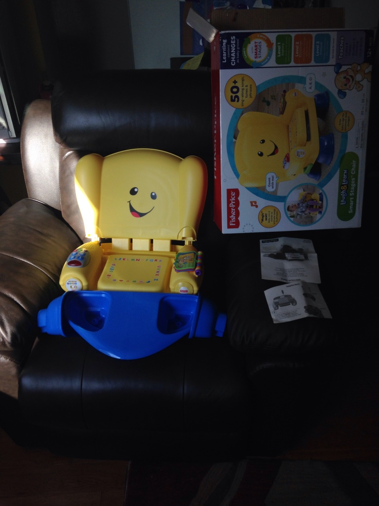 Clementon baby and child fisher price laugh amp learn smart stages chair