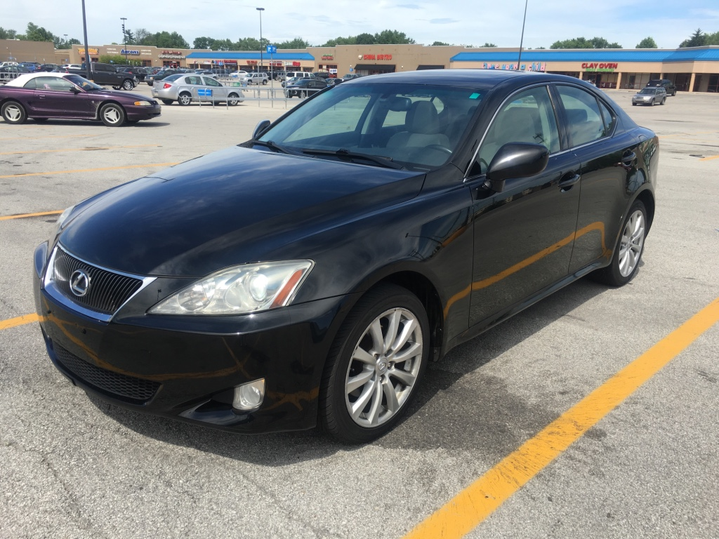 letgo 2007 lexus is250 awd in southport in. Black Bedroom Furniture Sets. Home Design Ideas