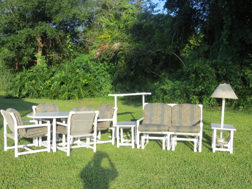 Pvc Patio Furniture Florida Replacement Cushions For
