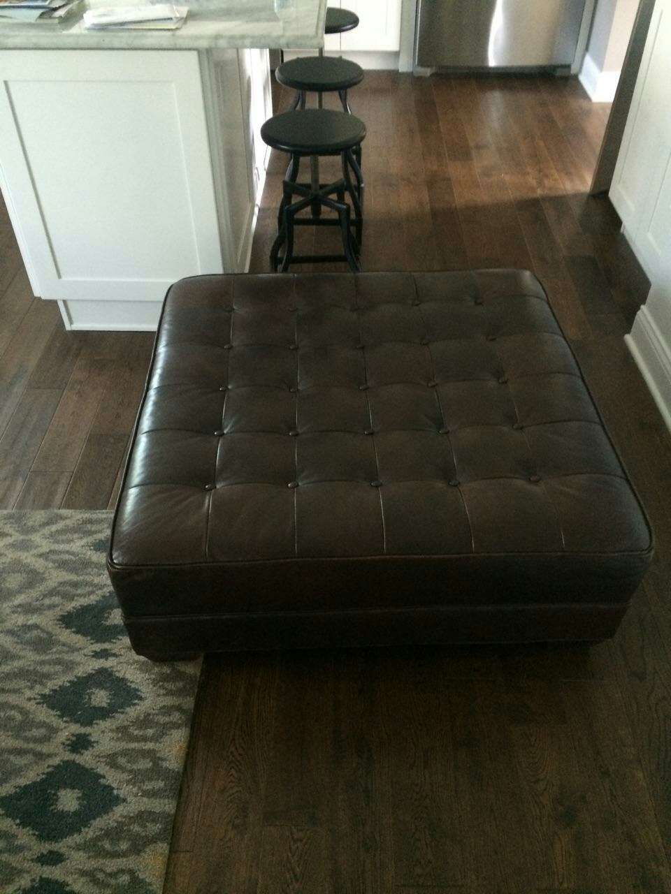 Letgo Crate And Barrel Leather Ottom In Warrenville Il