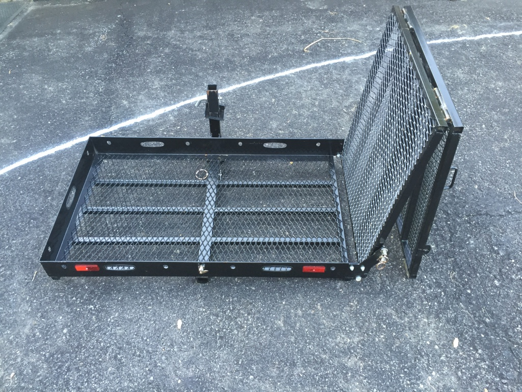 Lawn Tractor Cargo Rack : Letgo cargo rack w quot ramp in dry valley pa