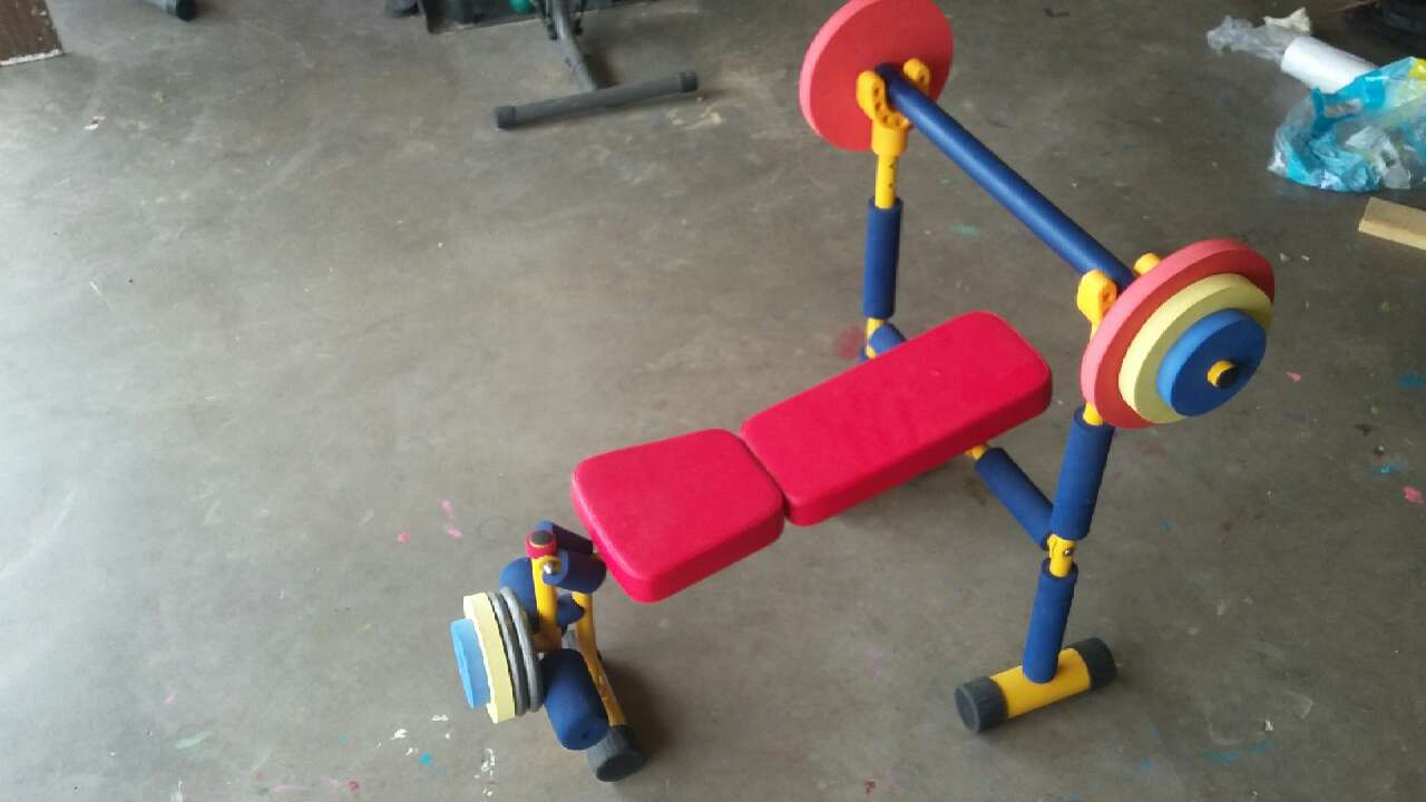 Letgo kids play weight bench in lubbock tx Kids weight bench