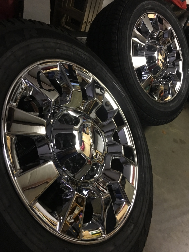 letgo - 2016 GMC Sierra Denali 2500Hd wheels... in Ivan, LA