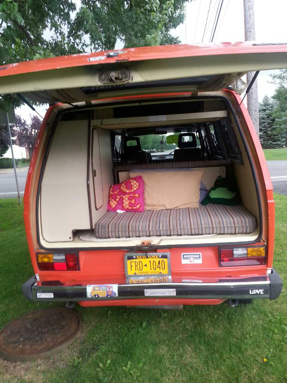 Bowmansville (NY) United States  city photos : Home New York Bowmansville Cars and Motors 1984 Vw Vanagon Westfalia ...