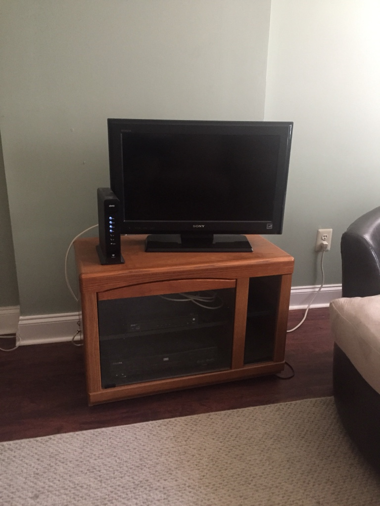Letgo Rolling Tv Stand In Mid City West Pa