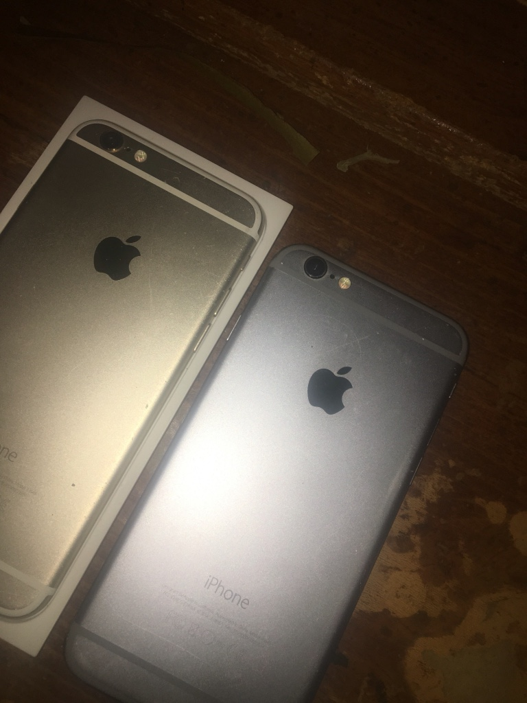 iPhone 6s and space grey 6