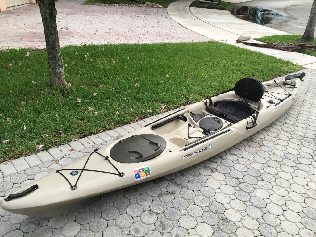 Letgo wilderness system tarpon in southwest ranches fl for Wilderness systems fishing kayaks