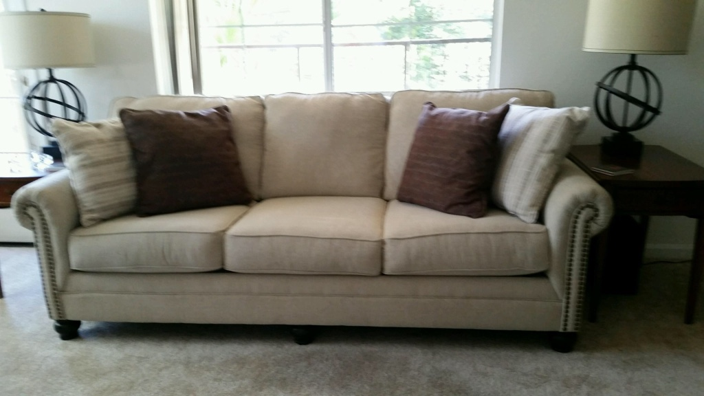 letgo Couch with pillows in San Jose CA