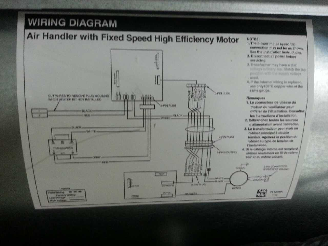 nordyne air handler wiring diagram 34 wiring diagram
