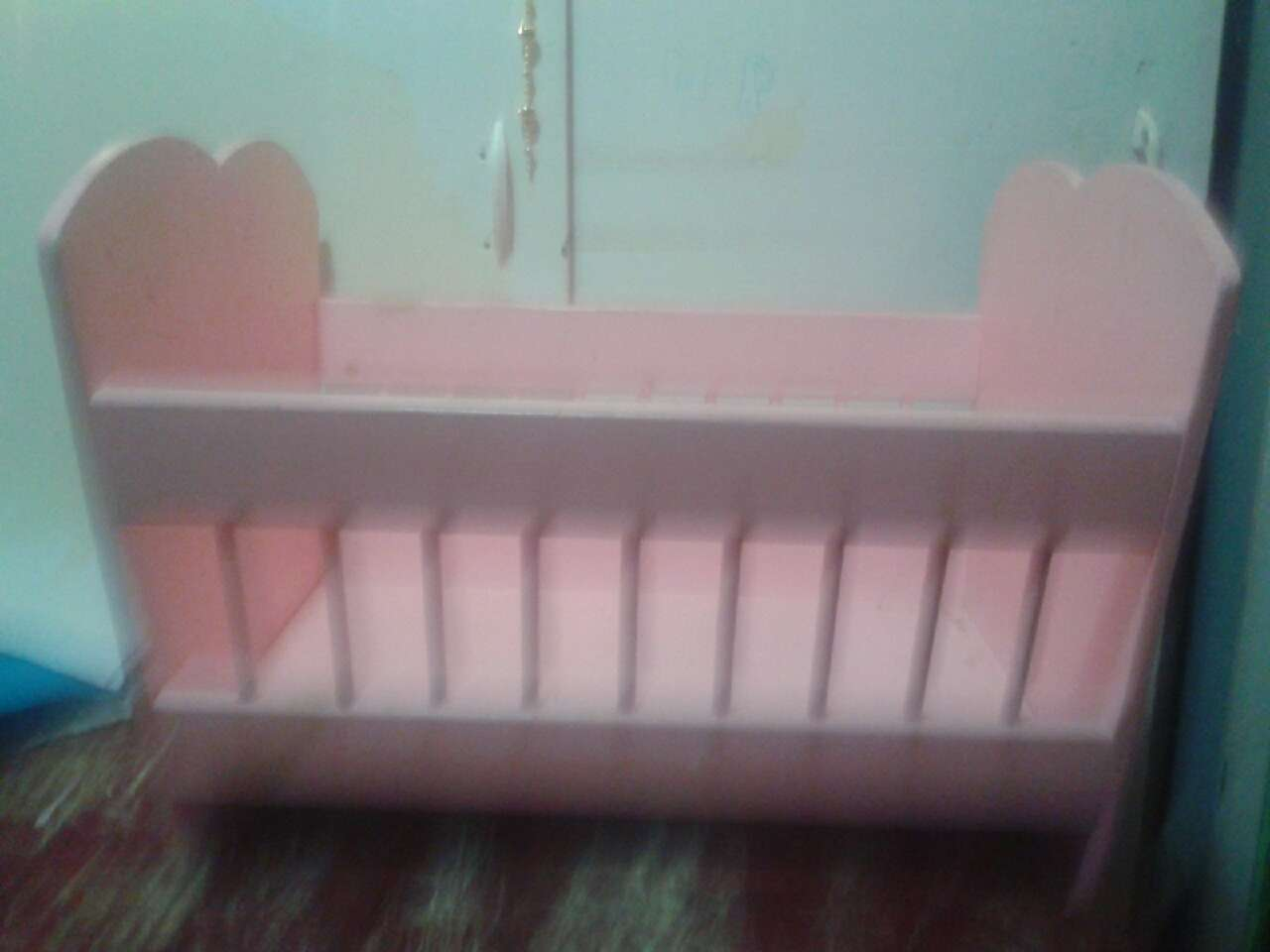 Used crib for sale toronto - Pink Wooden Crib