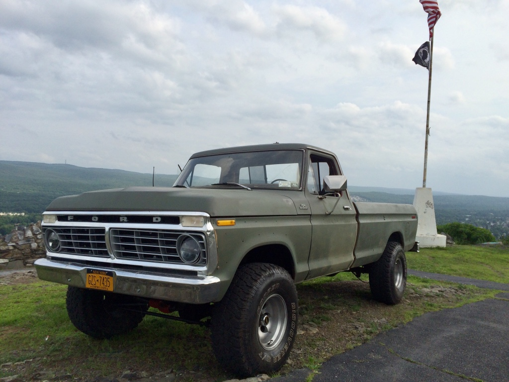 Letgo 1977 ford f 150 4x4 460 motor fa in matamoras pa for Motor truck of pa