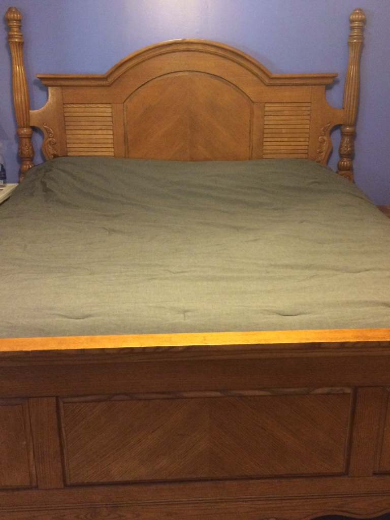letgo king bedroom set solid wood in panama city fl