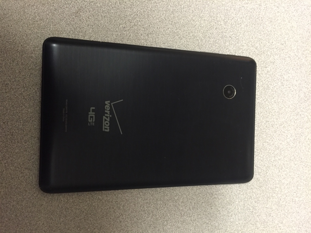 Verizon Ellipsis 7 Factory Reset
