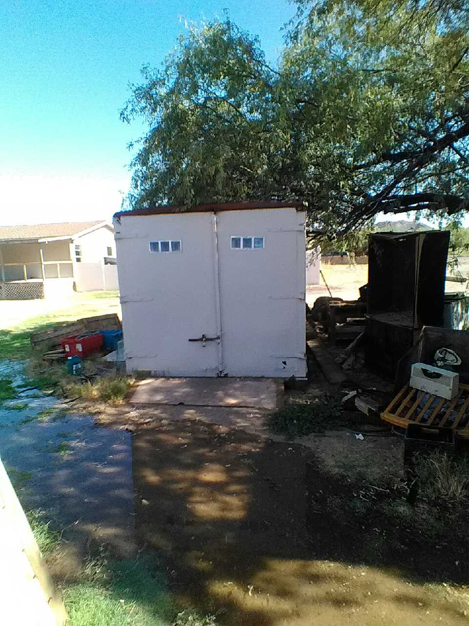 Letgo shipping container lots of room fo in laveen az - Container homes arizona ...