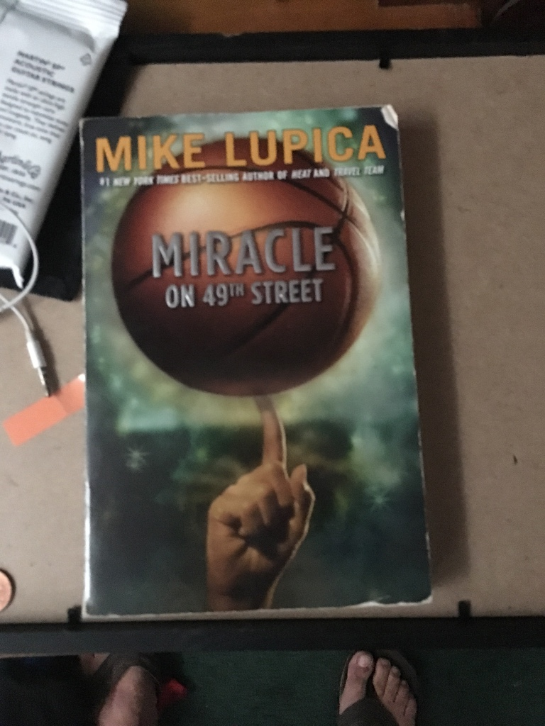 Letgo Mike Lupica Miracle On The 49th In Manasquan Nj border=