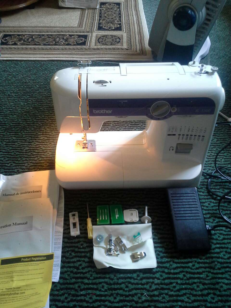 xl5500 sewing machine manual