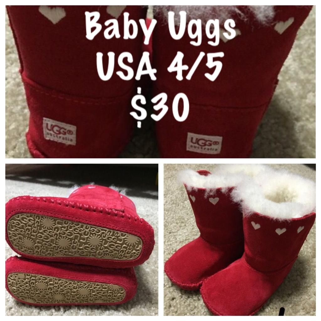 baby uggs size 4