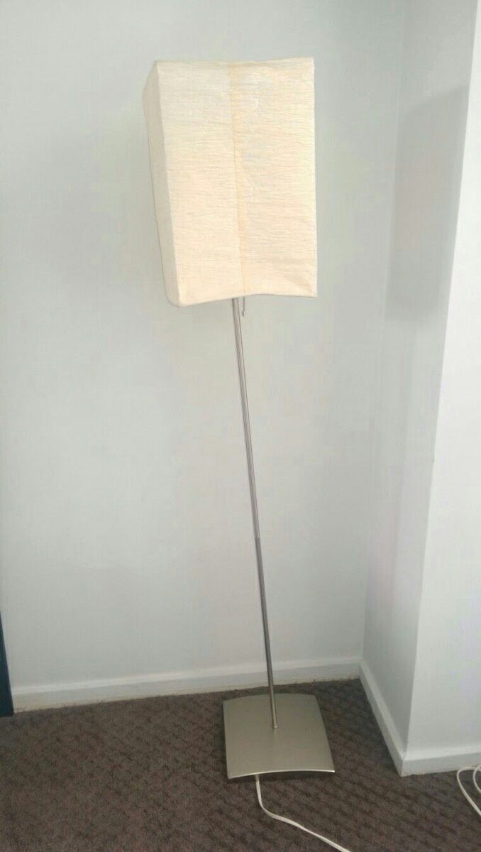 letgo white gray paper floor lamp in graceland il With grey paper floor lamp