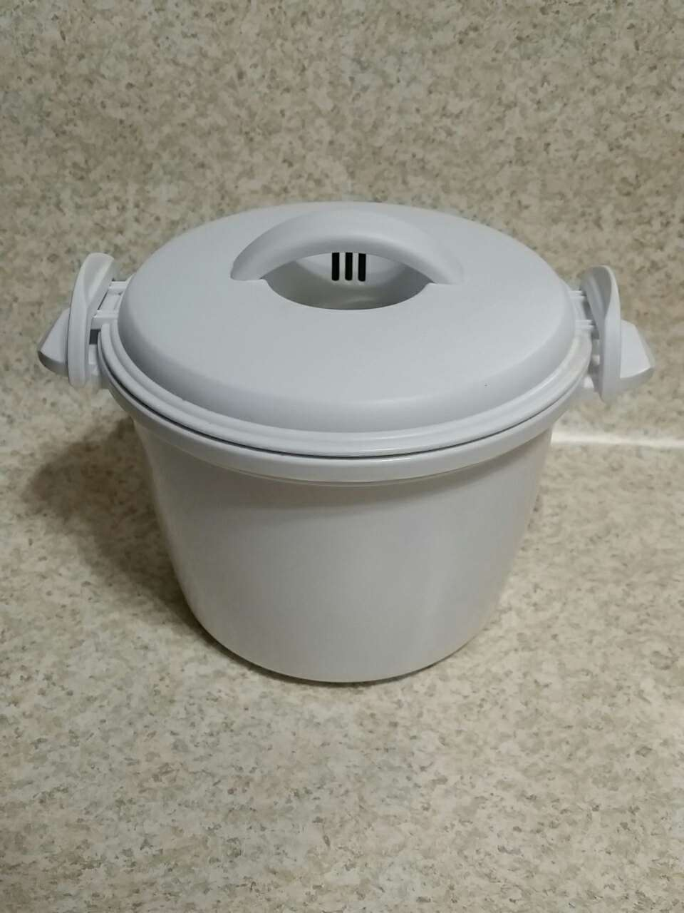 microwave rice cooker how to use